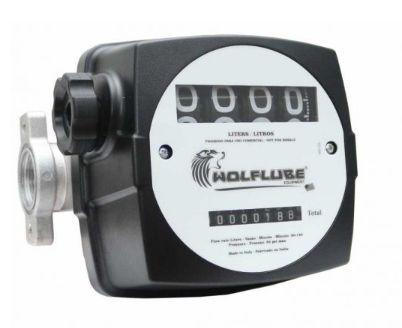 Medidor mecânico com visor giratório