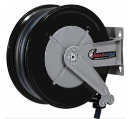 Carretel automatico , base simples - arla 32 - montado 10m mang 3-4 pol