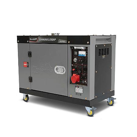 Gerador de Energia a Diesel TDG 8500 SLE3XP 7.5 kva Silenciado Trifásico 380V
