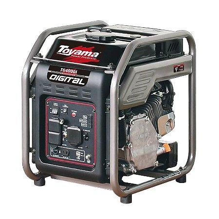 Gerador de Energia Digital a Gasolina 4KVA Monofásico-Toyama