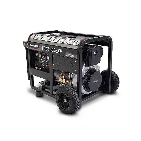 Gerador de Energia à Diesel de 498 cc 8.0 Kva trifásico 380v