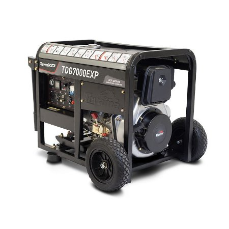 Gerador de Energia à Diesel 6.0 kVA - bivolt 115 330v-Aberto