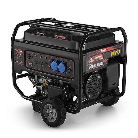 Gerador de Energia a Gasolina 4T 622CC 10,5KVA Mono. Bivolt