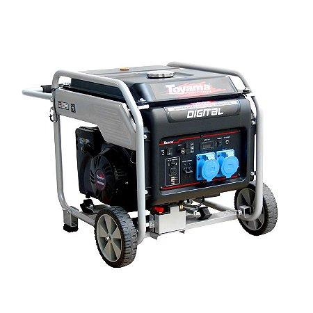 Gerador Digital à Gasolina 9KVA 220V Monofásico