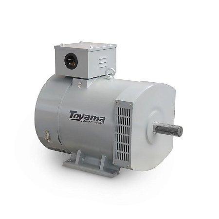 Alternador Monofásico Bivolt 17.3 kW Max115-230V-60Hz Toyama