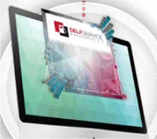 Software para Administração de Sistema Programável Controla 8 Dispensers até 500 usuários