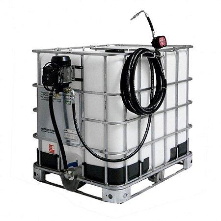 Unidade de Abastecimento Elétrica com Medidor Mecânico para IBC 1000L - Sem Reservatório