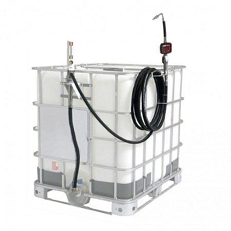 Unidade de Abastecimento Elétrica com Medidor Programável para IBC 1000L