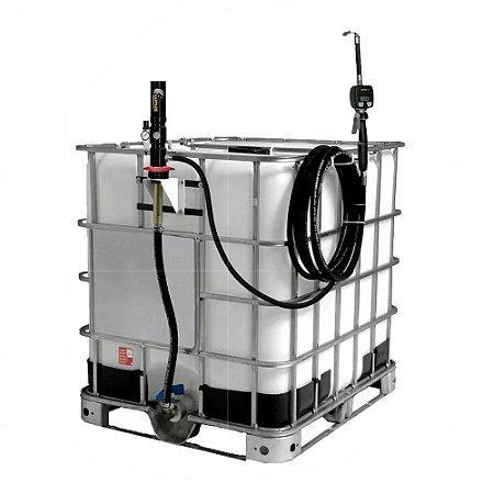 Unidade de Abastecimento Pneumática para IBC 1000L 25LPM - Sem Reservatório