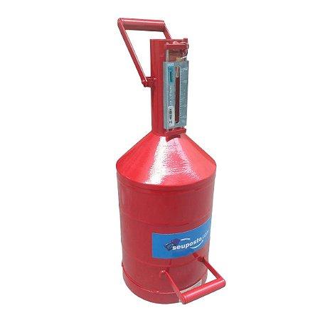 Aferidor de Combustível  20 Litros Certificado pelo INMETRO - Seu Posto