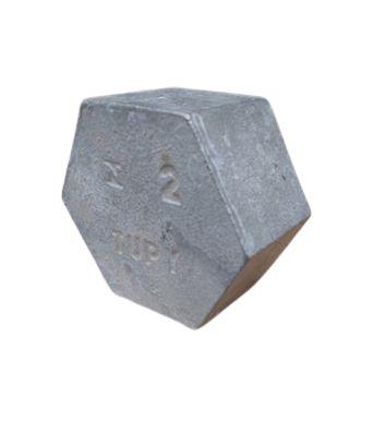 """Tampão Hexagonal Galvanizado 2"""" - Tupy"""