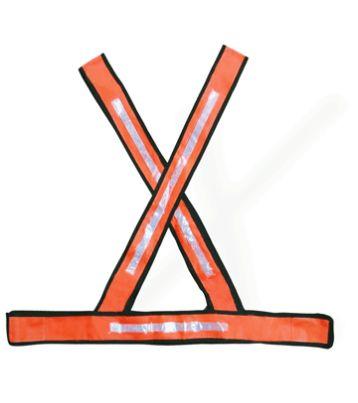 Colete Reflexivo em X para Sinalização