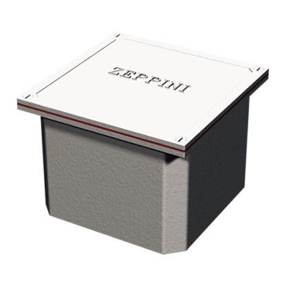 Caixa de Passagem em Alumínio 20x20
