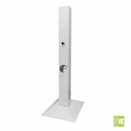 Pedestal para Estação de Recarga Elétrica