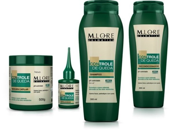 Kit M.lore Cosmetics Controle de queda