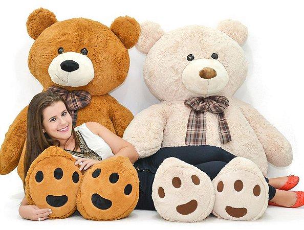 Urso de Pelúcia Harry 1,50cm - CORES DIVERSAS