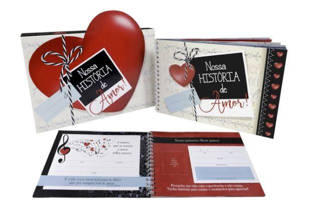Livro Scrapbook - Nossa historia de amor