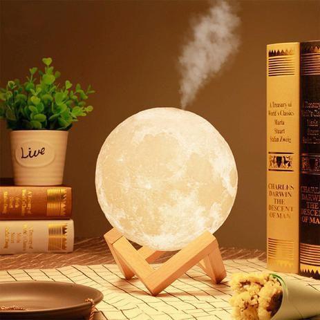 Umidificador de Ambiente 1,500ml - Lua Cheia