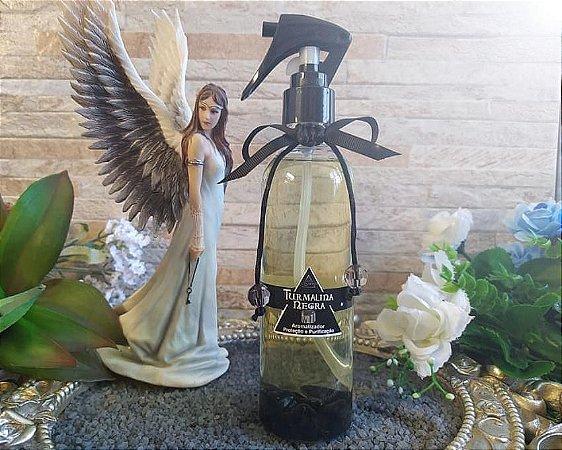 Home Spray para Proteção Espiritual de Pedras - Turmalina Negra