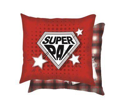 Mini Almofada 22x22 - Super Pai