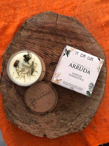Vela Perfumada artesanal 100g - Arruda