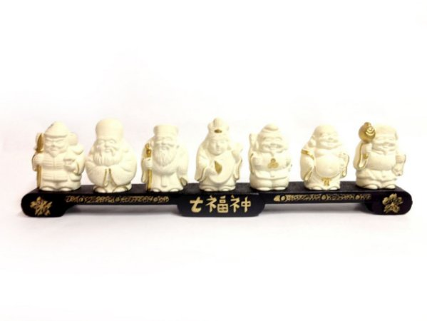 Estátua Decorativa - 7 Budas