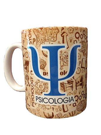 Caneca Cerâmica - Psicologia