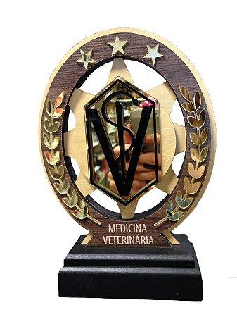 Troféu Madeira MDF Cursos - Medicina Veterinária