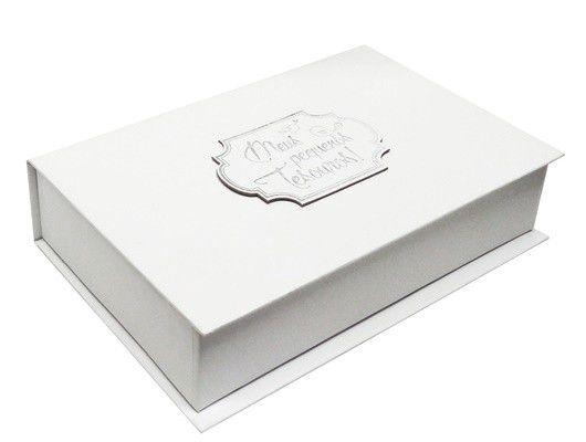Caixa de Lembranças Meus Pequenos Tesouros - Branca