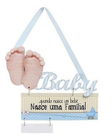 Móbile De Parede Baby 21x23 - Azul