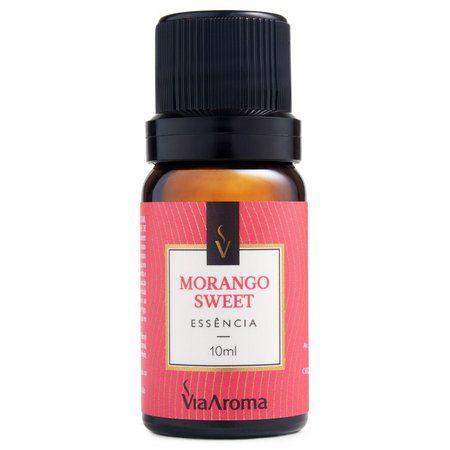 Essência Aromática Via Aroma - Morango Sweet