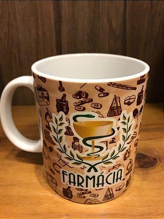 Caneca Cerâmica - FARMÁCIA