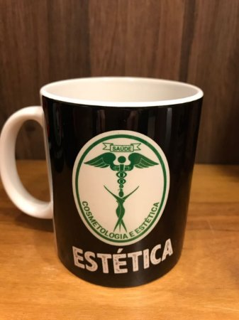 Caneca Cerâmica - COSMETOLOGIA E ESTÉTICA