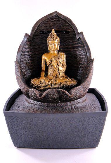 Fonte Buda Tibetano Folha