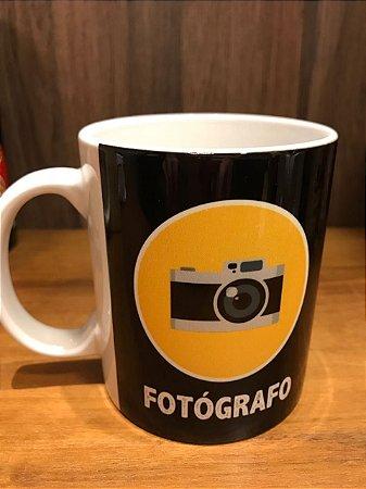 Caneca #EuAmoOqueFaço - Fotografo