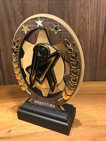 Troféu Madeira MDF Cursos - Arquitetura