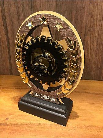 Troféu Madeira MDF Cursos - Engenharia