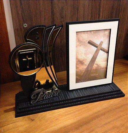 Porta Retrato com Troféu- Padre