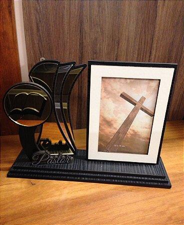 Porta Retrato com Troféu-  Pastor