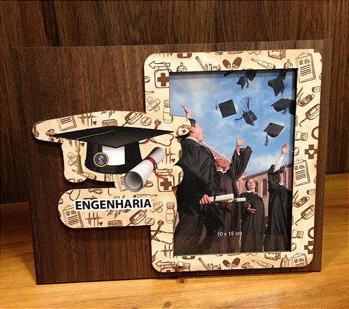 Porta Retrato MDF 10X15-  Engenharia