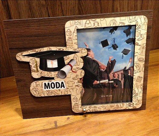Porta Retrato MDF 10X15-  Moda