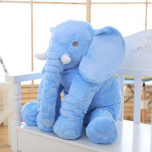 Elefante Travesseiro 60x75 - Azul