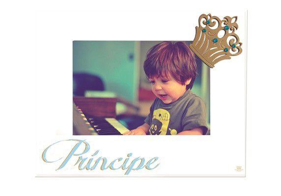 Porta Retrato Príncipe 15x21- Azul
