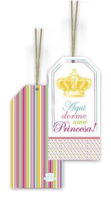 Tag Aqui dorme uma Princesa