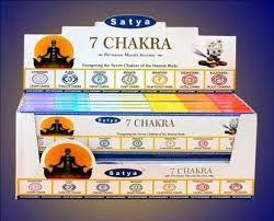 Incenso Satya - 7 Chakra  (unidade)