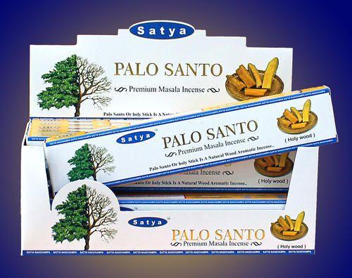 Incenso Satya - Palo Santo (unidade)