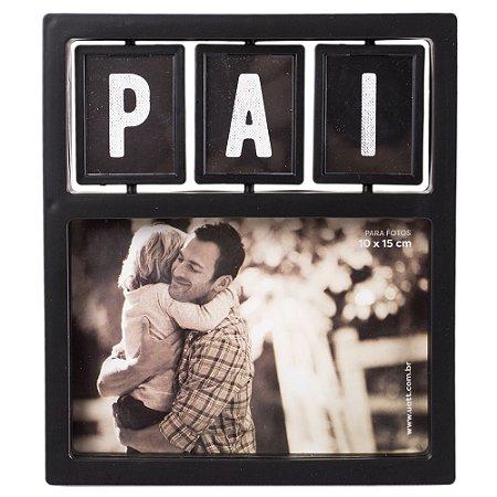 Porta Retrato Plastico 10x15 Gira Gira- Te Amo, Pai