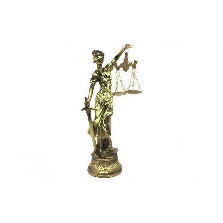 Dama da Justiça Resina 19cm