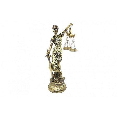 Dama da Justiça Resina 30cm