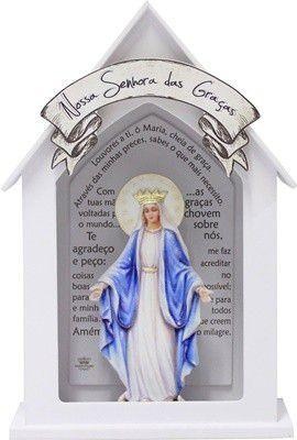 Capela Branca 22x15- Nossa Senhora das Graças